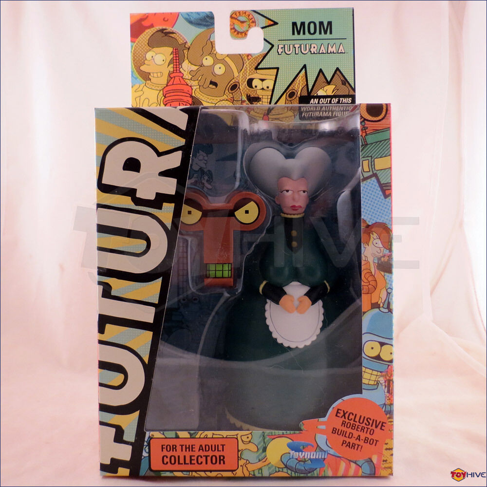 Futurama MOM CEO 2009 Toynami action figure with Roberto build-a-bot part
