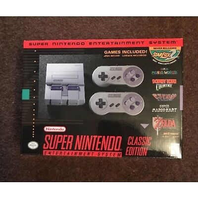 SNES Classic Edition Mini Super Nintendo IN HAND *FREE PRIORITY SHIPPING*