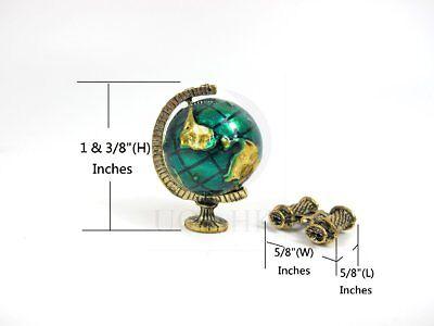 telescope 1:12 Scale dollhouse miniature  brass metal 1:12 scale field-glasses