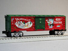 LIONEL DISNEY CHRISTMAS MICKEY'S HOLIDAY TO REMEMBER BOX CAR train 6-82716-B NEW