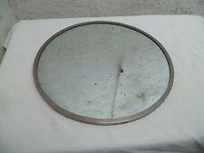 Ancien gros miroir rond élément de coiffeuse  1900 Art-nouveau