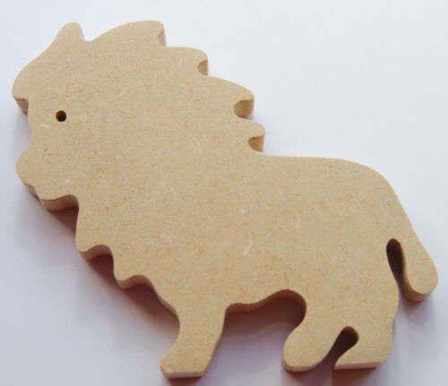 S30 LION SHAPE-FREESTANDING-READY TO PAINT-DECORATE,KIDS,CRAFT-12 MM MDF