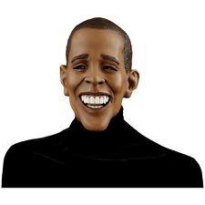 Deluxe President Barack Obama Costume Mask Adult Halloween Political Fancy Dress