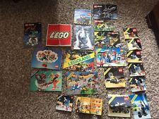 VINTAGE 1978 LEGO CATALOG & Instructions Lot Of 22 Legoland-6880-6803-6880-6881