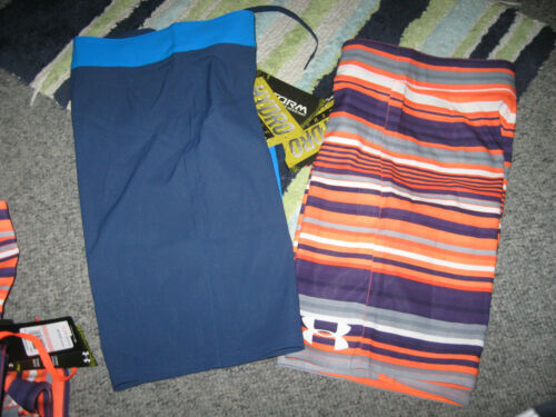 Size 24 or 26,NWT UNDER ARMOUR Boy/'s HYDRO Armour STORM Board Short