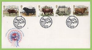 Conjunto-de-Graham-Brown-1984-British-Council-en-u-un-primer-dia-cubierta-de-Royal-Mail-Oficina