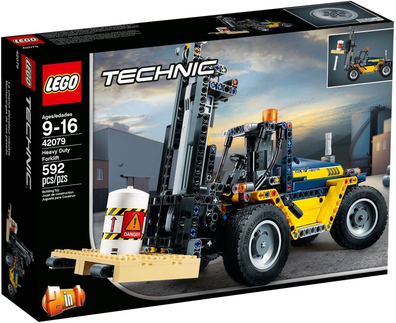LEGO Technic - 42079 Schwerlast-Gabelstapler - Neu & OVP