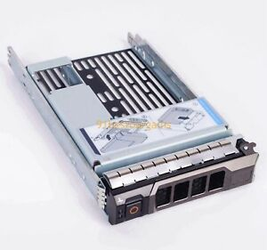 Hybrid-Drive-Carrier-3-5-034-tray-2-5-034-adapter-Dell-9W8C4-F238F-T320-T420-R310-T430