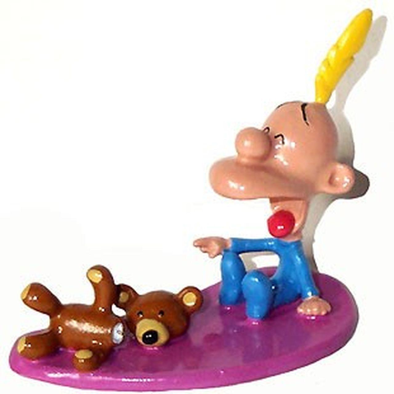 Figurine métal Titeuf Titeuf et son ours en en en peluche, Pixi Pixi 9c8409