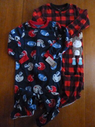 Boys Carters 1-Piece Fleece Pajamas