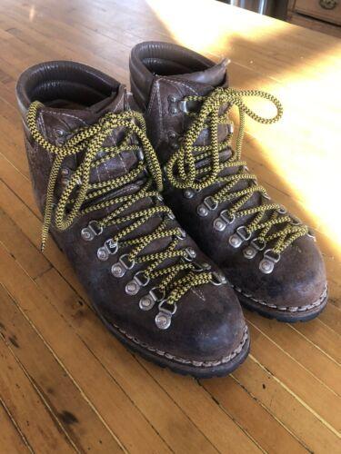 Vintage STELLINA Hiking Mountaineering Boots Men S