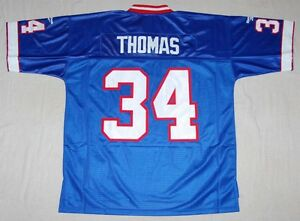 best loved 74025 44dec Details about THURMAN THOMAS BUFFALO BILLS REEBOK NFL SEWN THROWBACK JERSEY  XL
