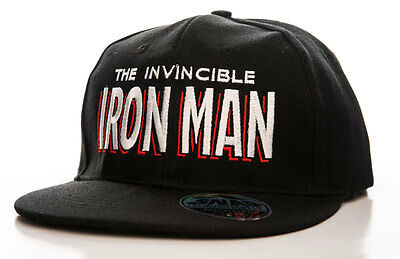 Besorgt Officially Licensed Iron Man Adjustable Size Snapback Cap Mangelware