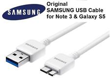 Original OEM Samsung Galaxy Note 3 S5 USB 3.0 Data Sync Cable Charger White