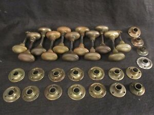 Image Is Loading 1 Pair Of High Quality Antique Brass Oval