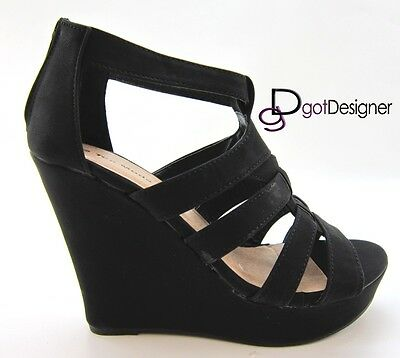 NEW Women's Fashion Shoes Platforms Wedges Heels Summer Comfort Strappy Open Toe