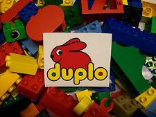50 BRICKS lego DUPLO *STARTER SET* MIXED BLOCKS PIECES PARTS bundle bag lot set