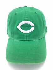 """Cincinnati Reds Hat Kelly Green """"St. Patrick"""" Irish Baseball Cap"""