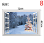thumbnail 8 - 3D Merry Christmas Wall Decals Removable Window Stickers Decor DIY Art Xmas  *
