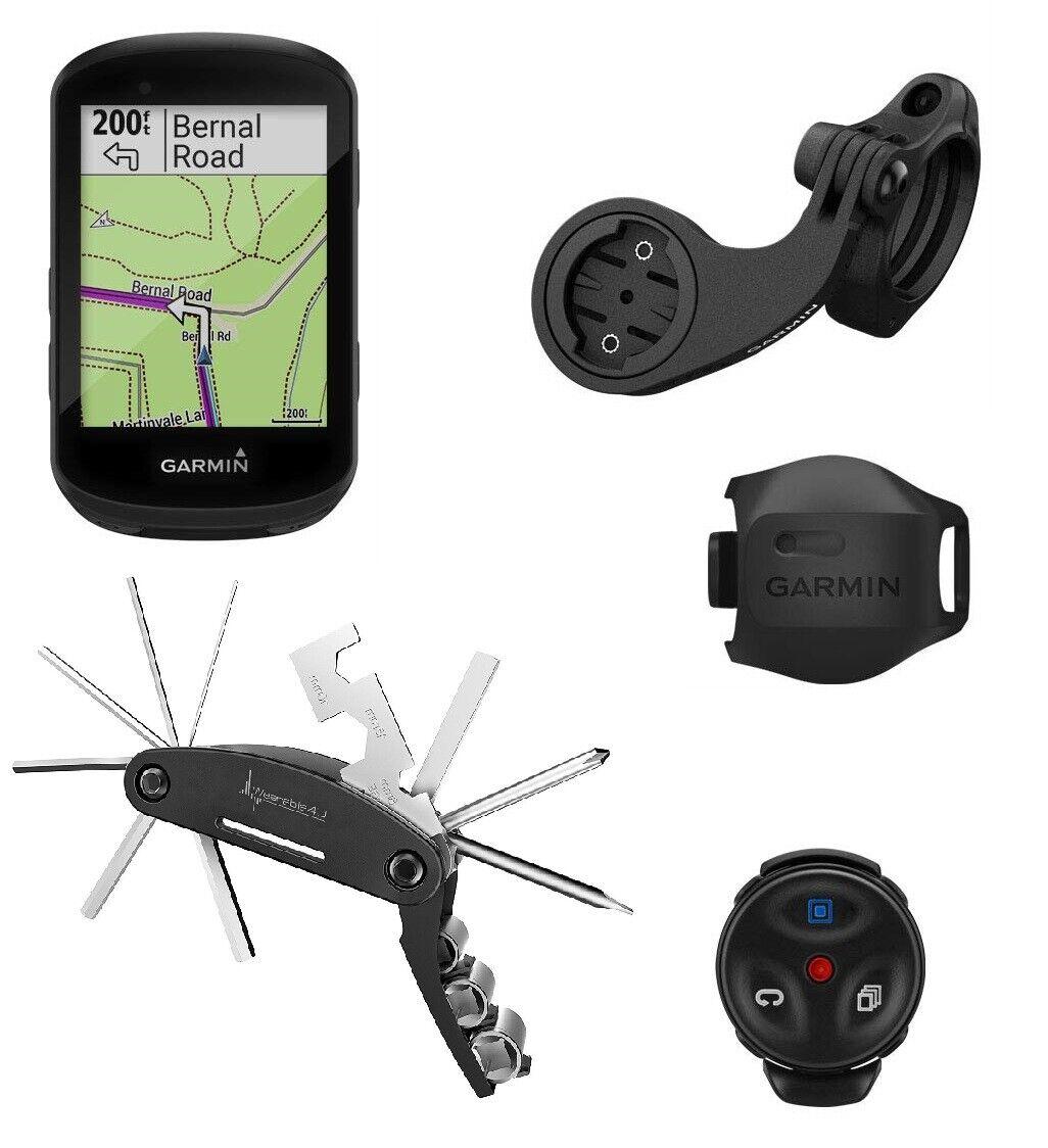 Garmin 530 GPS Ciclismo Computadora W Edge multi herramienta (Bicicleta de Montaña Ciclismo Paquete)