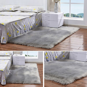 2019-Fluffy-Rugs-Anti-Skid-Shaggy-Area-Rug-Dining-Room-Carpet-Floor-Mat-Decor-BY