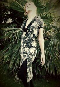 Vestito-aderente-modello-Jane-Fonda-sartoriale-fatto-a-mano