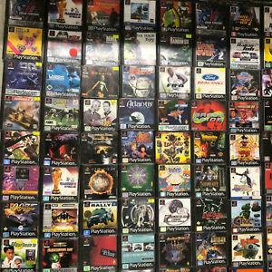 Über 400(!) Playstation 1 Spiele PSX Games 250 div. PAL TITEL Silent Hill uvm.