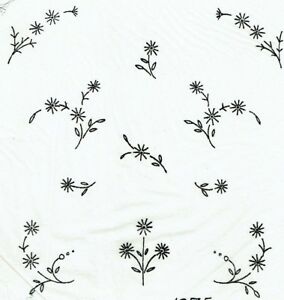 Vintage-Visage-iron-on-embroidery-transfer-celandine-flowers