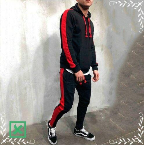 Pants Male Stripe Patchwork