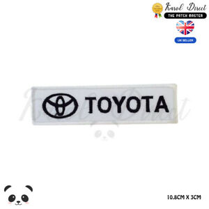Toyota-Car-Brand-Racing-Embroidered-Iron-On-Sew-On-Patch-Badge-For-Clothes-etc