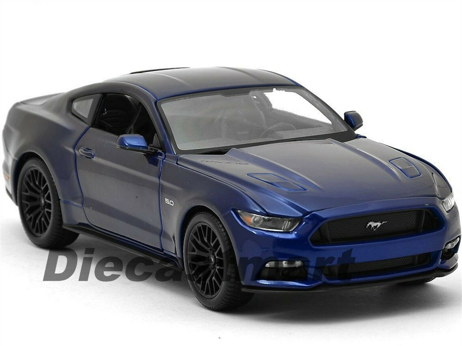 2015 FORD MUSTANG GT 5.0 blueE 1 18 DIECAST CAR MODEL BY MAISTO 31197