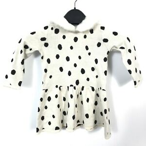 12-18 M NWT Baby Gap Girl/'s Disney Baby Mickey Mouse Dots Tunic Sweater Sz