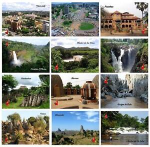 Cameroon Yaounde Foumban Rhumsiki Maroua Gorges de Kola Waterfalls Koza Huts