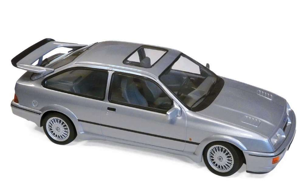 NOREV 182770 FORD SIERRA RS COSWORTH COSWORTH COSWORTH diecast model road car grey 1986 1 18th 258240