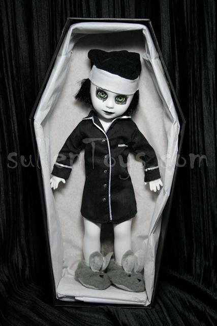 Living Dead Dolls Resurrection Purdy Res Series 10 X Brains SDCC LDD sullenToys