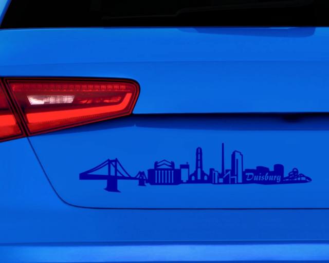 Aufkleber Chemnitz Skyline Autoaufkleber 25 Farben Autosticker Sticker Auto