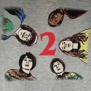 Stranger-Things-Tee-3-4-Sleeves-Ringer-Womens-Baseball-Style-Shirt-Size-XL