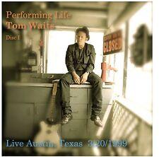 Tom Waits Live Austin Texas 1999 And Live KNEW Studios 1975 2 CD Set
