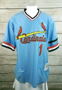 Mitchell-amp-Ness-Ozzie-Smith-St-Louis-Cardinals-1982-Jersey-Size-56-3XL
