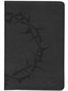 ESV-Compact-Bible-soft-leather-look-charcoal-with-crown-design