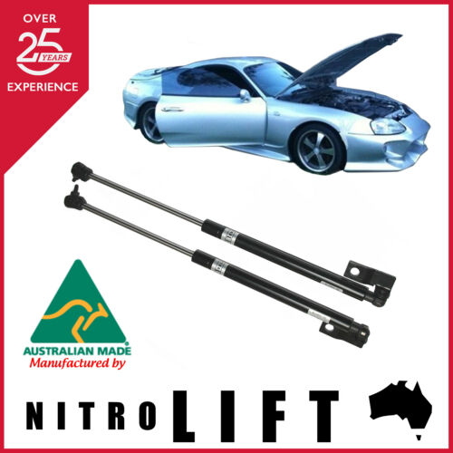 NITRO LIFT BONNET GAS STRUT KIT to suit TOYOTA SUPRA FROM YEAR 1993 TO 2002
