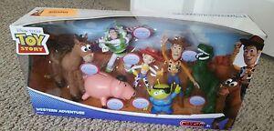 Toy Story Western Adventure Set Woody Buzz Jessie Rex Porkchop Alien Bullseye