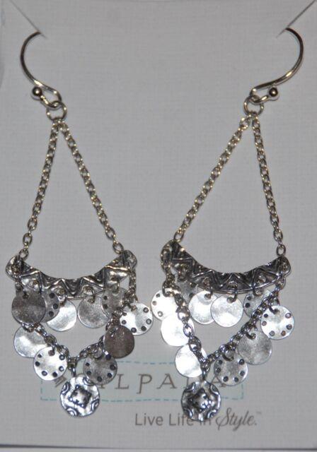"""SILPADA - W2893 - Sterling Silver """"Confetti"""" Earrings"""