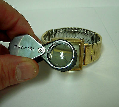 NEW IN BOX 10X LOUPE PROTECT YOURSELF SEE IT ALL $14.95 SEE WATCH DETAILS!
