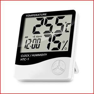 Lanhiem-Indoor-Digital-Thermometer-Hygrometer-Accurate-Room-Temperature-Gauge