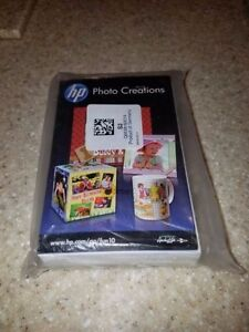 "NIP HP Photo Creations Photo Paper 4"" x 6"" 150 pack Q6638-60014"