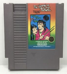 Nintendo-NES-The-Legend-of-Kage-Video-Game-Cartridge-Authentic-Cleaned-Tested