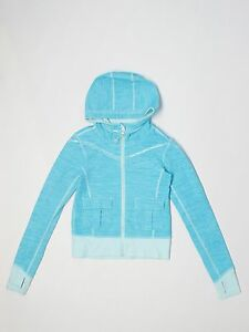 Girl-Ivivva-Blue-Teal-Practice-Full-Zip-Athletic-Hoody-Jacket-Size-8