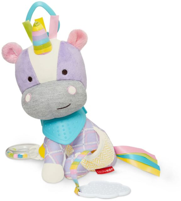 Skip Hop BANDANA BUDDIES ACTIVITY TOY - UNICORN Baby Toys Activities BN