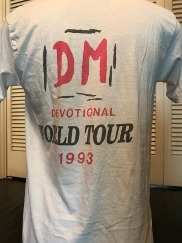 VTG Depeche Mode 93 Devotional Tour Shirt Sz M Bau